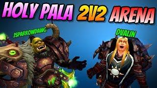 Holy Paladin Arena 2v2 | Pala + Warrior | PvP BFA 8.0.1 | World of Warcraft Battle for Azeroth