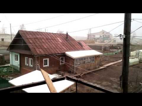 Ураган сорвал крышу в Слободском