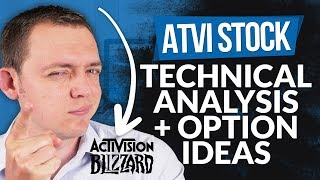 ATVI (Activision Blizzard) Stock - Technical Analysis + Option Ideas...