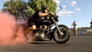 Bike Night Burnout