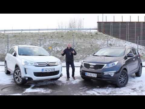 Citroën C4 Aircross vs Kia Sportage 2013 - SUV Test
