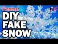 DIY FAKE SNOW - Pinterest Test #77 - Man Vs Pin