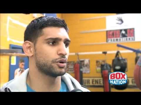 Amir Khan Chats to BoxNation about Luis Collazo