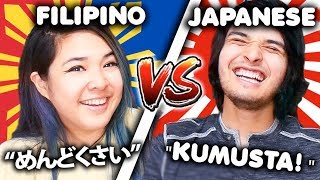 FILIPINO VS JAPANESE LANGUAGE CHALLENGE