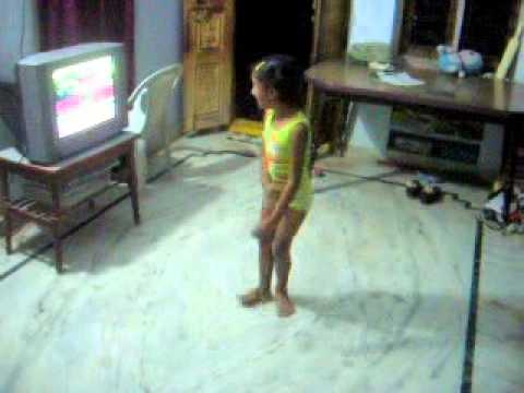 Bangaru Dancing For Chhota Bheem Title Song video