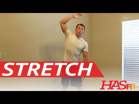 How to Stretch Routine - Improve Flexibility Exercises - HASfit Static Stretches Cool Down Exercise