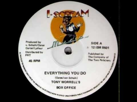 Tony Worrell's Box Office - Everything You Do / Don't Turn Away