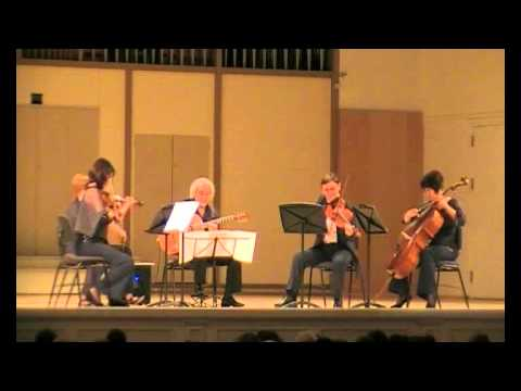Alexander Vinitsky. Guitar and string quartet. Edgar Battle and Eddie Durham. Topsy (arr.A.Vinitsky)