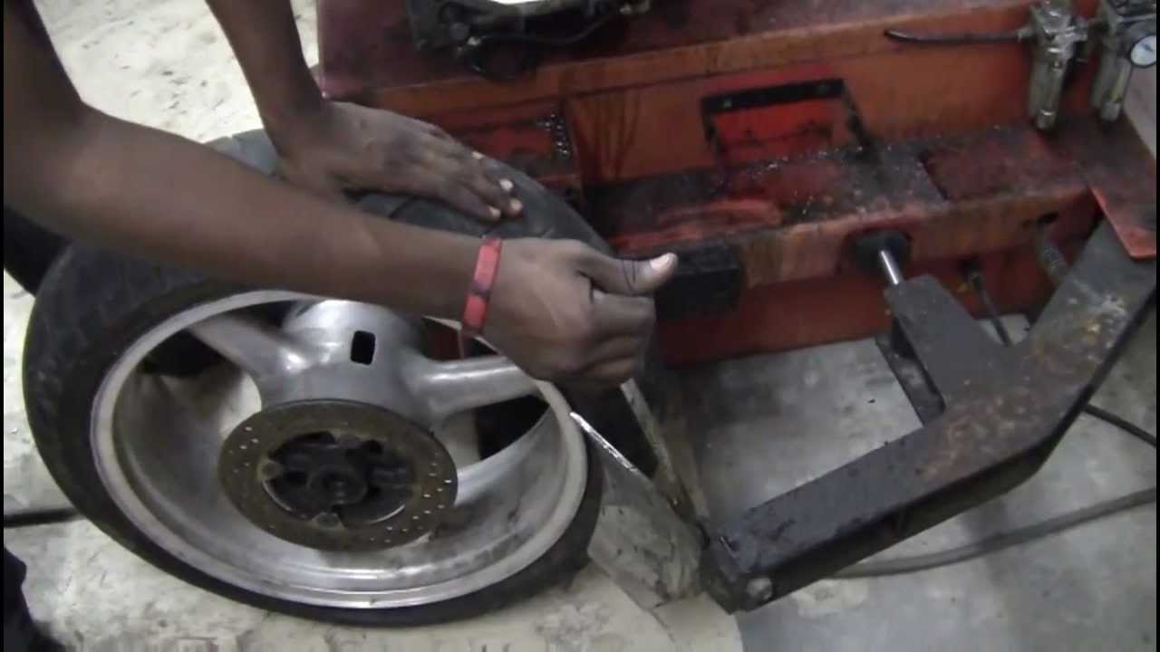 how to build a motorcycle tire changer