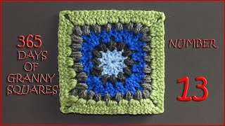365 Days of Granny Squares Number 13