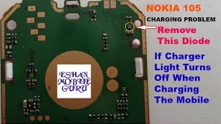 Nokia 105,100,101,102,108 ETC Charging Problem If Charging Light Turns Off  When Charging The Mobile