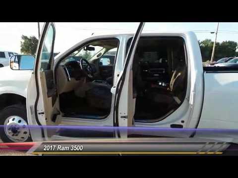2017 Ram 3500 Odessa TX HG743140