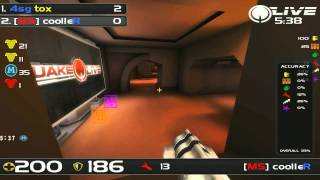 QuakeCon 2011 - Playoffs - Round 2 - coolleR vs tox