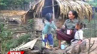 Lao NEWS on LNTV:  Laos hopes of achieving fundamental poverty reduction.30/4/2015