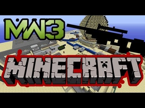 MINECRAFT MW3 INFECTED!