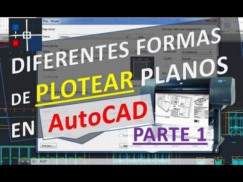 Como imprimir un Plano en AutoCAD - Asignando grosor por color (Más comercial)