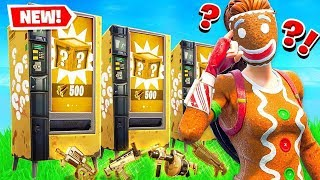 VENDING MACHINE *NEW* LUCKY BLOCKS in Fortnite Battle Royale