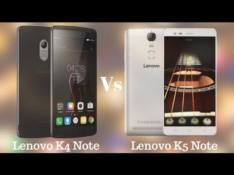 Lenovo K4 Note Vs K5 Note Smartphones Comparison