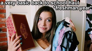BACK TO SCHOOL CLOTHING HAUL! 2019-2020