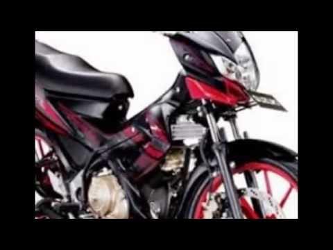 VIDEO FOTO MOTOR SUZUKI TERBARU 2014,SUZUKI SATRIA FU 150CC BLACK FIRE