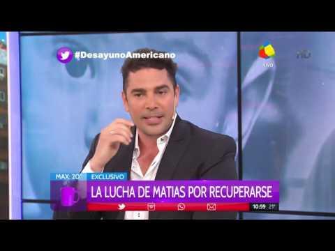 Matías Alé: Tuve el deseo de no vivir más
