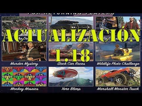 GTA 5: ACTUALIZACIÓN 1.18 Y CONTENIDO EXCLUSIVO
