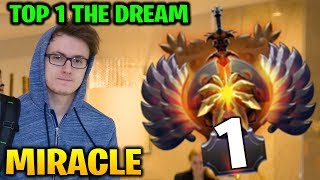 Miracle: Road To Top 1 Immortal Ranking SF + Gyro Dota 2 7.17