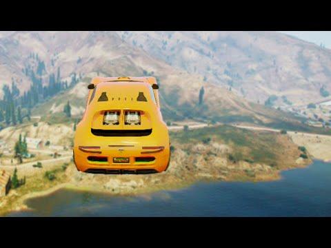 Biggest Lake Jump (gta 5 Funny Moments) video