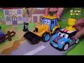 Мультфильмы для детей - про машинки. Гонки наперегонки! Развивающие мультфильмы