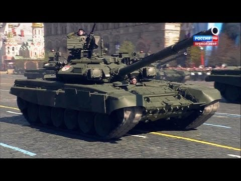 Russia TV - Russia Victory Day Parade 2013 : Full Army Weaponry Segment [1080p]