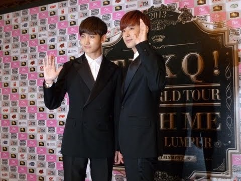 TVXQ! Catch Me Tour in Malaysia Press Conference