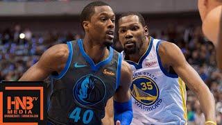Golden State Warriors vs Dallas Mavericks Full Game Highlights   11.17.2018, NBA Season