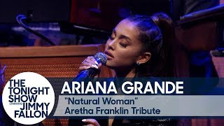 "Download Lagu Ariana Grande and The Roots Perform ""Natural Woman"" in Tribute to Aretha Franklin Gratis STAFABAND"
