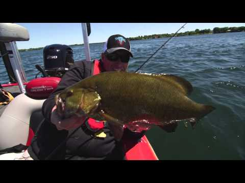 Choosing Line for Swift Current Smallmouth - Dave Mercer's Facts of Fishing THE SHOW