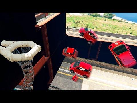БАСКЕТБОЛ МАШИНАМИ В GTA ONLINE (GTA 5 Смешные моменты)