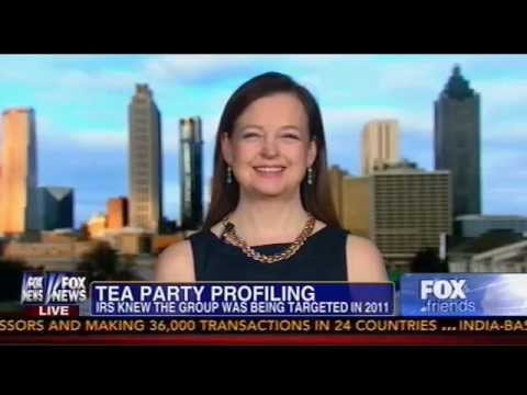 Fox News Features Jenny Beth Martin of Tea Party Patriots on IRS Targeting Conservative Groups