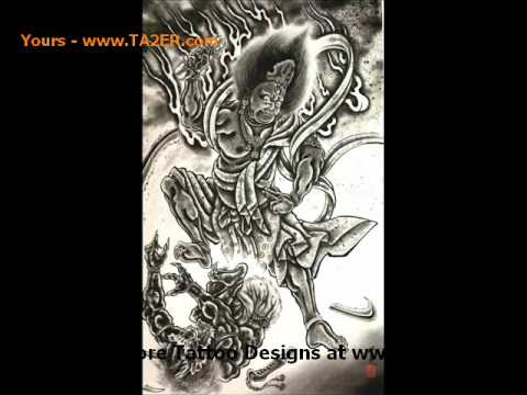 Japanese Tattoo Design Ideas Video