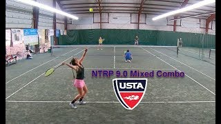 NTRP 9.0 Mixed Doubles - Andrew/Judy - Match Highlights
