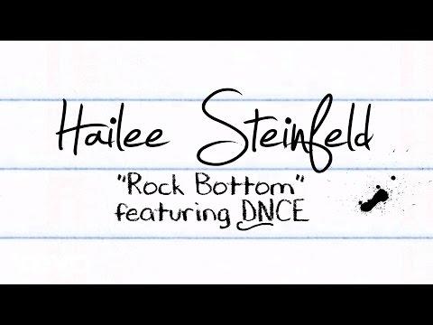 download lagu Hailee Steinfeld - Rock Bottom   Ft. DNCE gratis