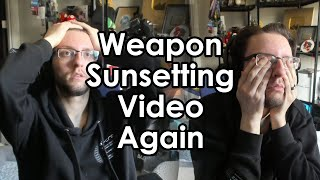 Datto Talks About Weapon Sunsetting Yet Again - Season 13 Update
