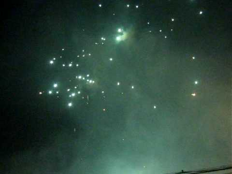 Fireworks in Jixi City, Heilongjiang Province, China---3
