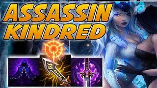 THIS IS HOW YOU PLAY ASSASSIN KINDRED! INSANE LATE GAME BUILD! | Kindred Jungle - League Of Legends