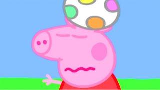 Peppa Pig English Episodes | Peppa Pig Plays Football! ⚽️| 1 Hour