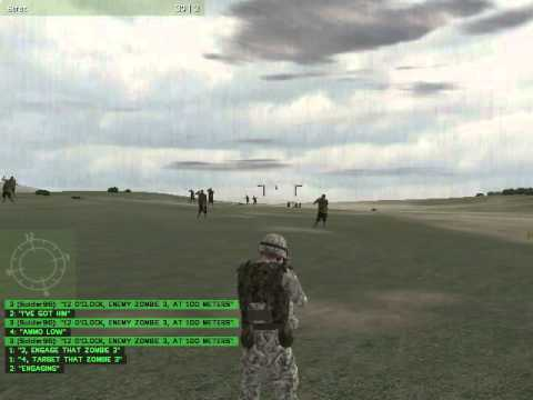 arma 1 combat operations encountering other wave of zombies