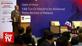 Dr M: Govt spent its first year resetting the nation