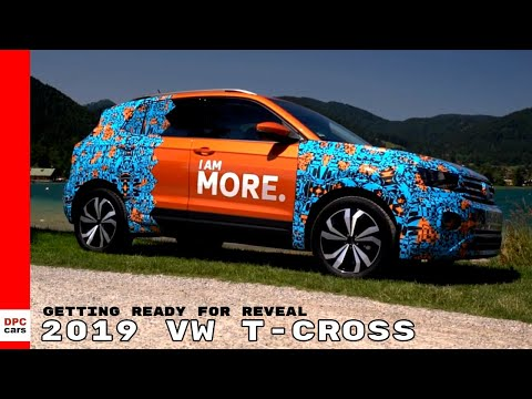 2019 VW T-CROSS Getting Ready For Reveal