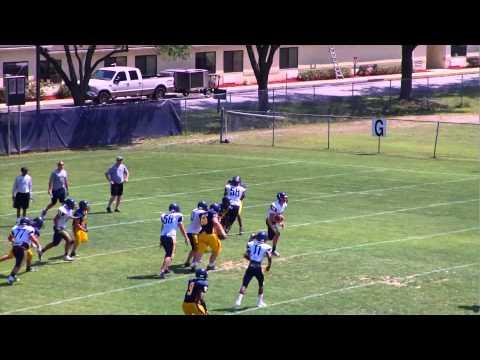 Chris Riddle 2015 Quarterback (University Christian School Jacksonville, FL)  2014 Spring Season - 05/23/2014