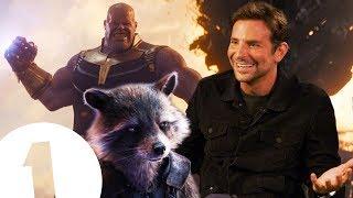 """Thanos has a point!"" Bradley Cooper on The Avengers, Lady Gaga & fighting Robert De Niro."