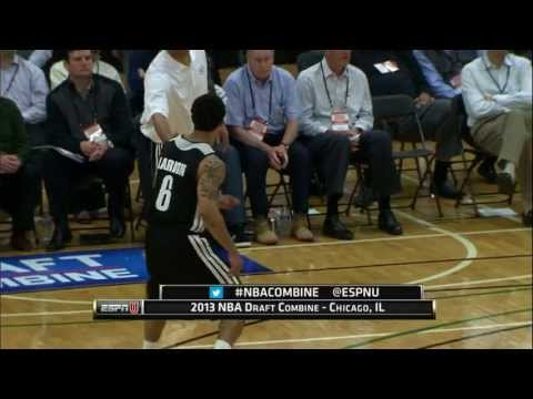 Peyton Siva and Shane Larkin at the NBA Draft Combine 2013
