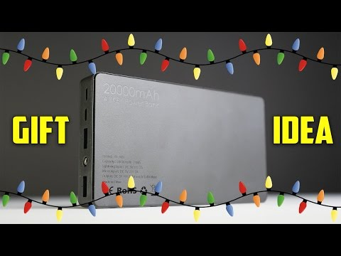 Aukey 20.000mAh Portable Charger External Battery Power Bank! (2015 Holiday Gift Idea)